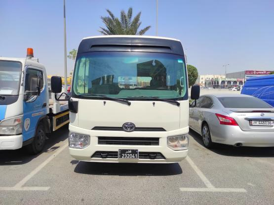 NEW TOYOTA COASTER - 23 SEATER- FOR RENT