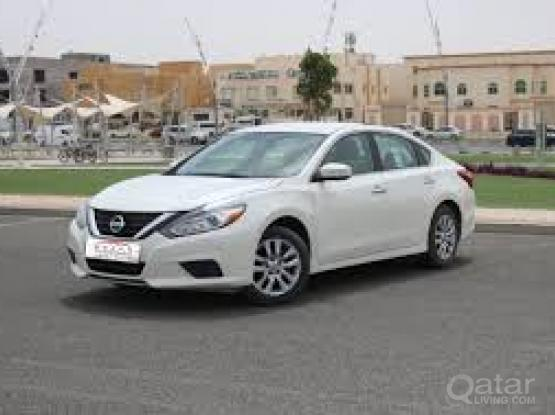 Rent a car for monthly Nissan Altima --<