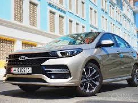 Rent a car for monthly   Chery Arrizo 6   -<