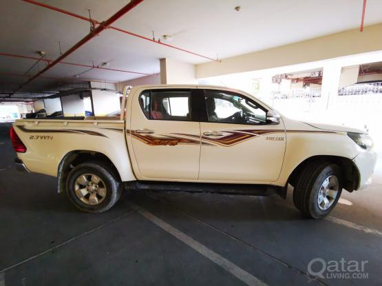 Toyota Hilux Pick up with & with out driver available