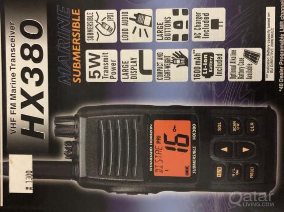 Marine VHF Transceiver Radio