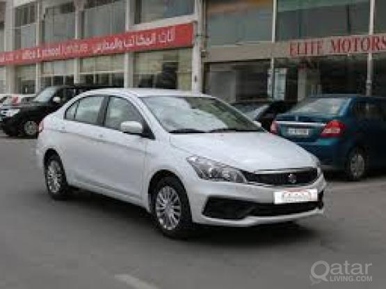 Rent a car for monthly Suzuki Ciaz
