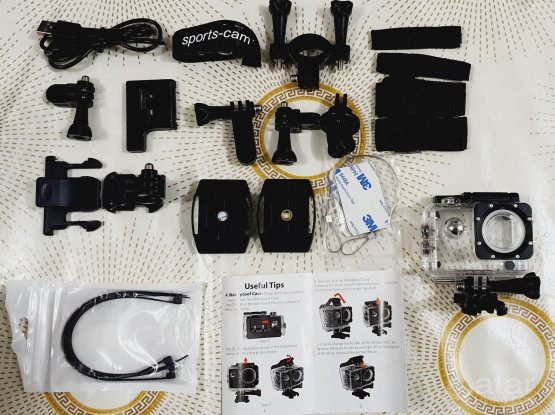 GOPRO / ACTION CAMERA ACCESSORIES TRAVEL KIT