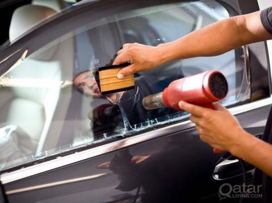 car window tinting Sun protection