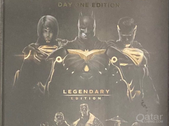 PS4 GAME CD -INJUSTICE 2 LEGENDARY EDITION
