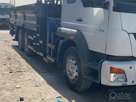 10 Tonne  Boom Truck  for rent with gate pass
