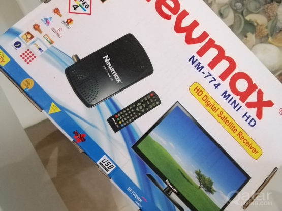 MINI HD RECEIVER WITHOUT CHARGER