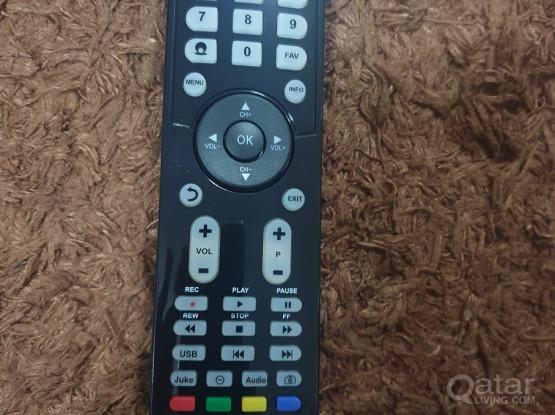 techno sat receiver remote