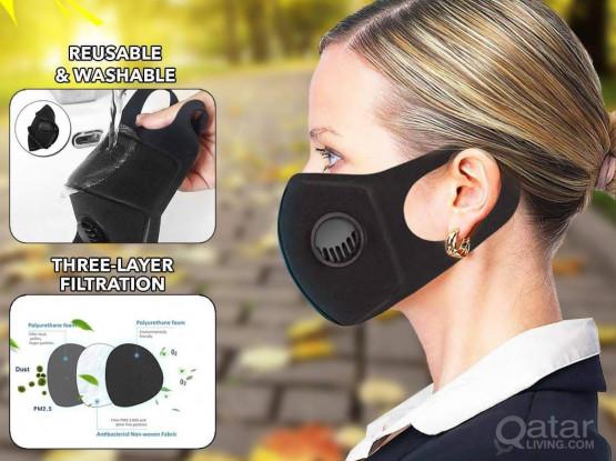 Filter Washable Reusable Form Mask
