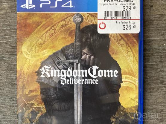Playstation ps4 kingdom come deliverance