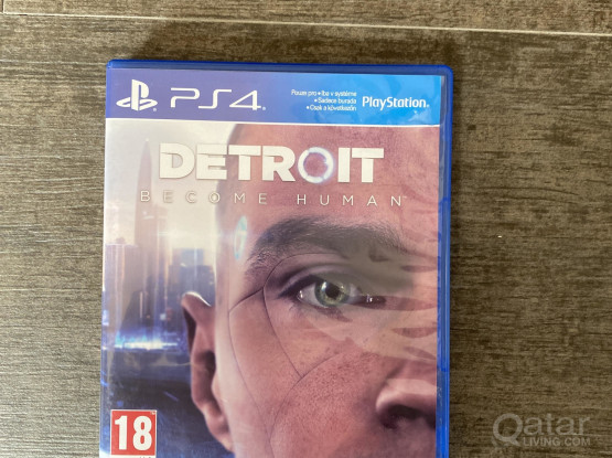Playstation ps4 game detriot become human