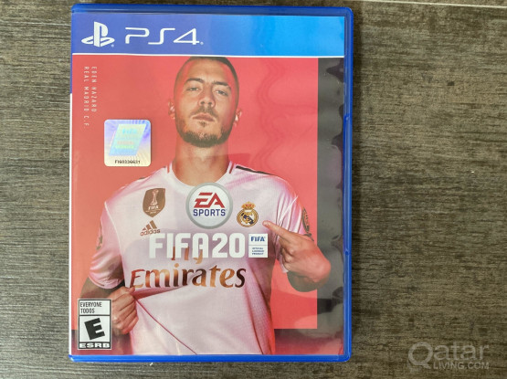 Playstation ps4 game fifa 2020