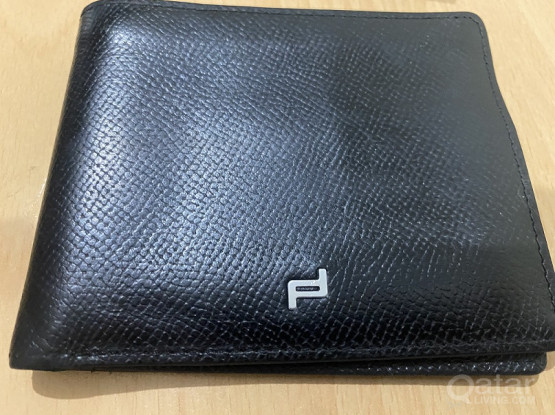 Porche Design Wallet (Black / Very Good Condition)