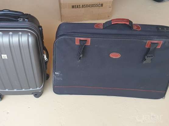 Several luggages for sale