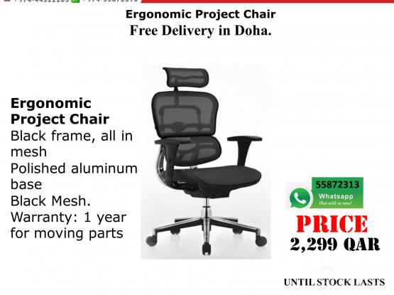 ERGONOMIC PROJECT CHAIR MESH