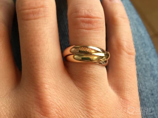 Cartier trinity ring original
