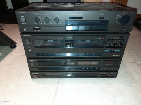 Technics Amp/Stero Cassette/Disc Pl./Synthesizer