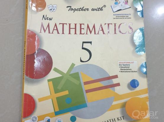 Grade 5 textbooks for sale (bhavans public school)