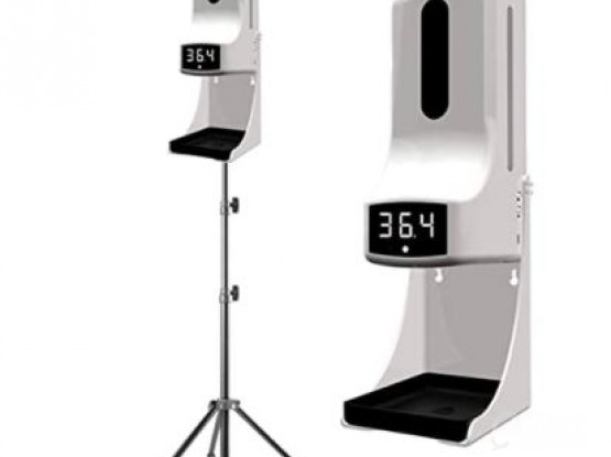 2in1 Automatic Dispenser with Thermometer