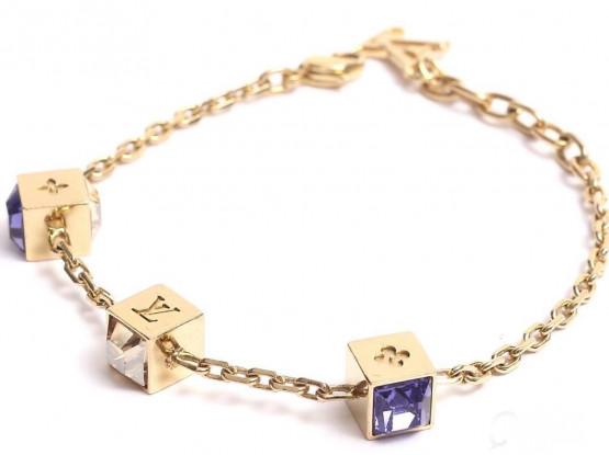 Louis-Vuitton-gamble-charm-bracelet (Used)