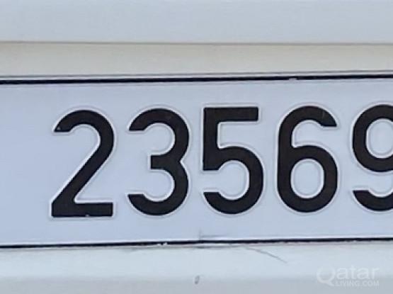 5 Digit Number Plate Fot Sale