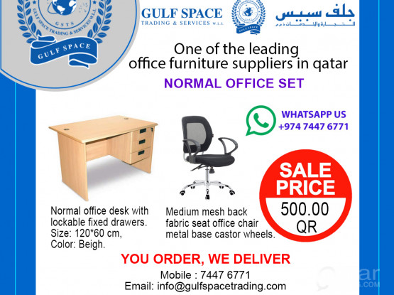 Office Desk & Chairs SPECIAL PROMOTION