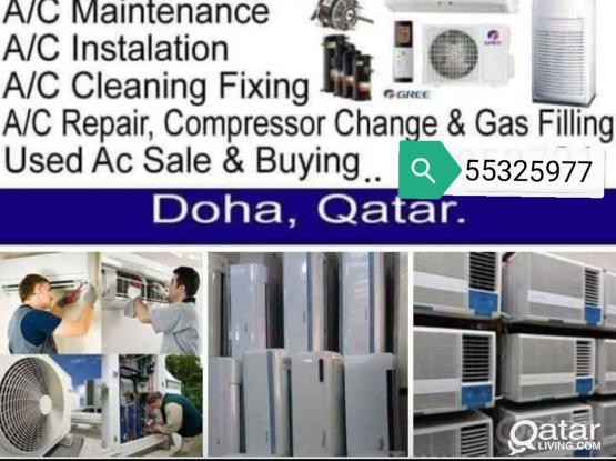 Window,Split Ac For Sale & Ac Repair, Service, Gass Recharge
