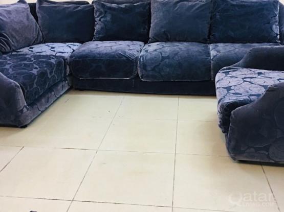 For sell L shape sofa set