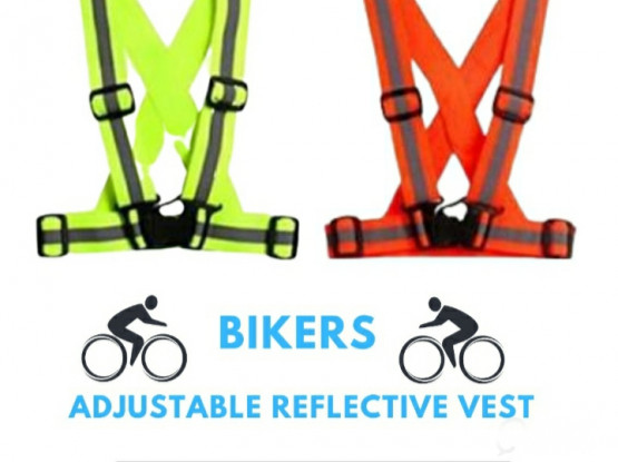 Reflective Bicycle/e-Shooter/Bike Vest