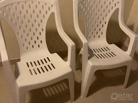 New chairs 4 piece available