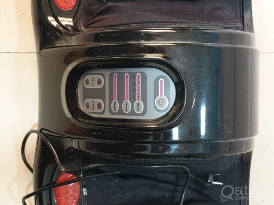 Foot massager in very good condition with remote control