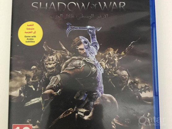 Middle Earth: Shadow of War PS4 Game