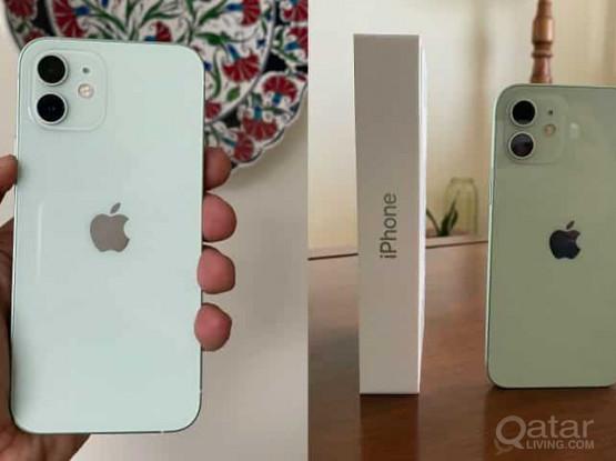 iPhone 12 Pista green 128GB. With Accessories, under warranty