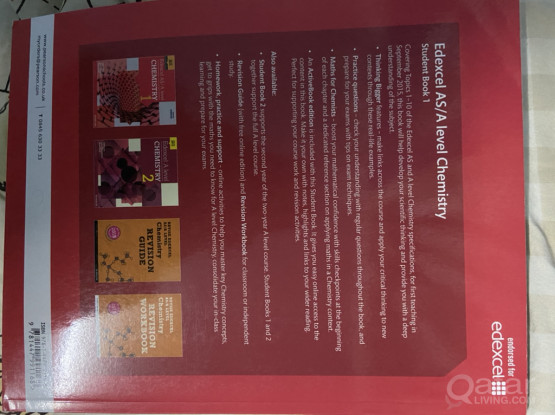 Edexcel AS/A Level Chemistry Textbook