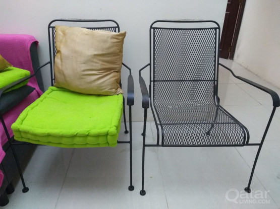 IRON CHAIR 2 NOS OUTDOOR  & INDOOR USE