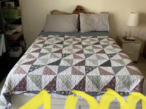 Bed Set 140x2 Meter