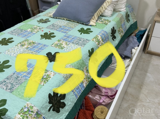 Bed Set 1,0x1,90 Meters