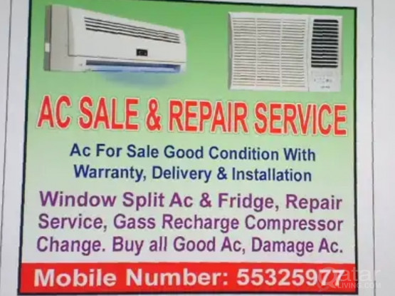 Ac For Sale Available and Ac Repair Service Gass Recharge