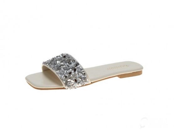 Women's Open Toe Slippers (size-36)