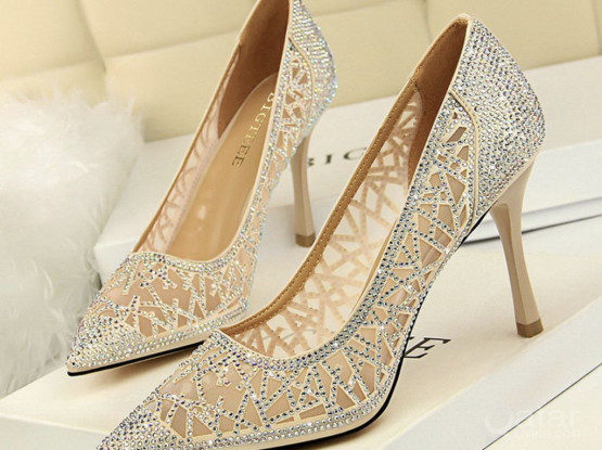 Women's High Heeled Shoes (size-43)