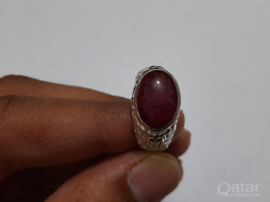 Gemstone ring Ruby
