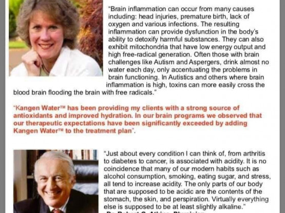 Doctors recommend in Kangen Water Medical device