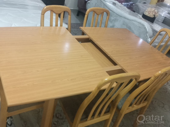 Dinning table and cabinet