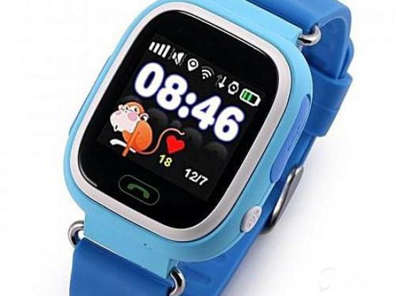 Q90 Kids Smart Watch GPS LBS Double Location Safe Children Watch Activity Tracker SOS Card