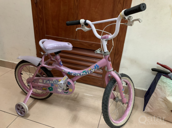 A Bike for Girls From 3 To 7