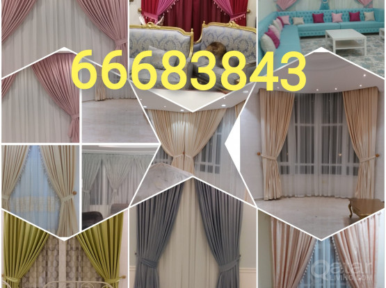 New Curtains Blackout Roller Making Fixing.Call Me 66683843