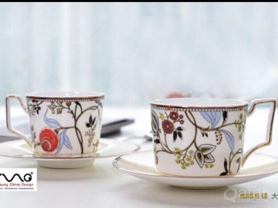 2 Piece Cup and Saucer Set