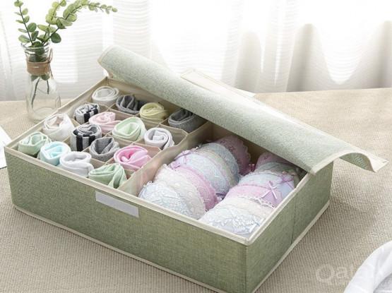 1 Piece Underwear Storage Box