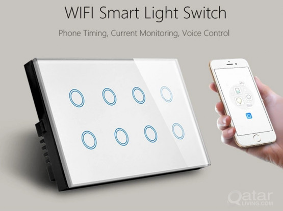 8 Gang WiFi Smart Wall Switch