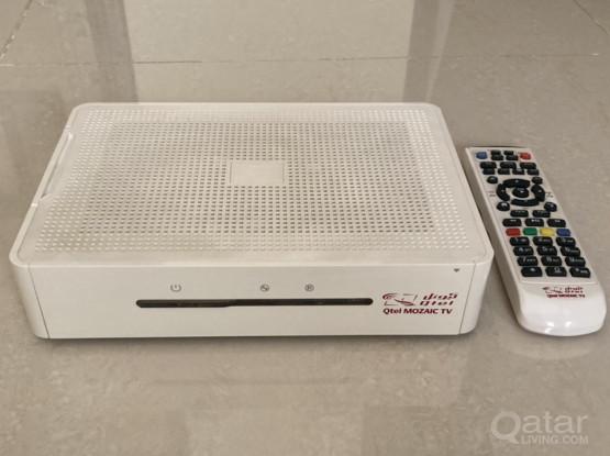 Mozaic TV Satellite Receiver
